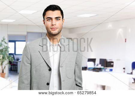 Male manager portrait