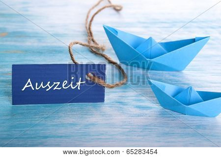 Boats With Auszeit