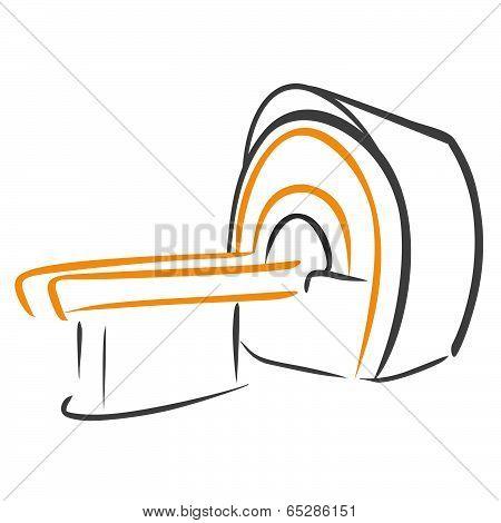 CT Scanner sketch