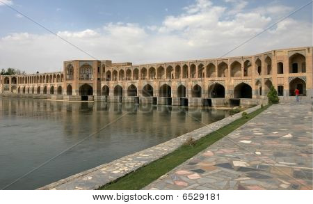 Bridge In Esfahan. Iran