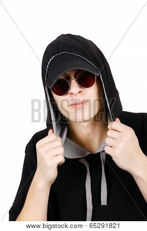 Teenager In Hood
