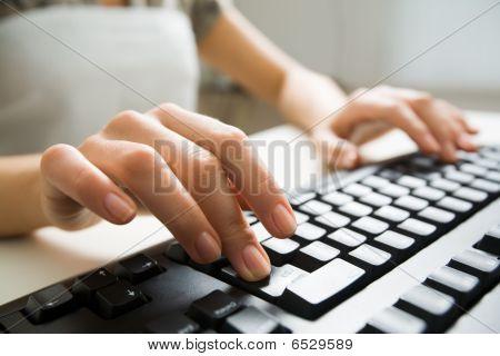 Pressing Keys