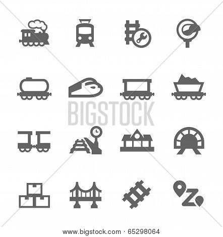 Trains Icons