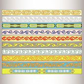 pic of tatar  - Ribbon motif Tatar ornament  - JPG