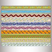 picture of tatar  - Ribbon motif Tatar ornament  - JPG