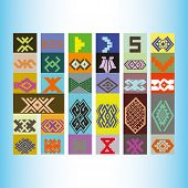 stock photo of tatar  - Tatar ornament motif  - JPG