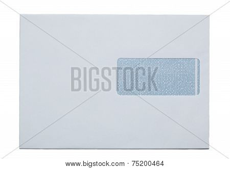 Snail Mail Envelop, Paper, Isolated On White