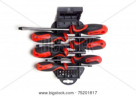 Screwdriver And Bit Set