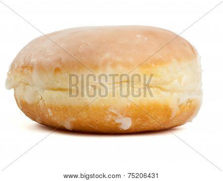 Single Sweet Berliner Pfannkuchen Pastry