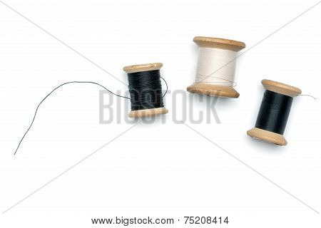 Old Thread Spools