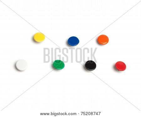 Colorful Thumb Tacks
