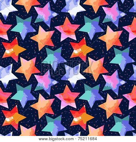 abstract grunge stars