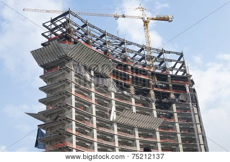 High Rise Under Construction