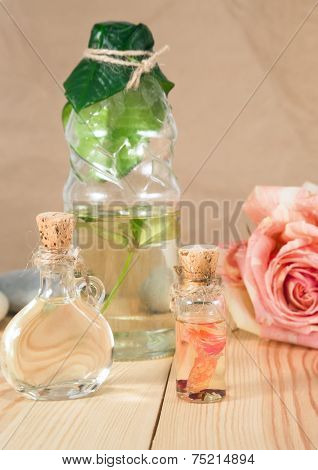 Natural Cosmetic And Oils