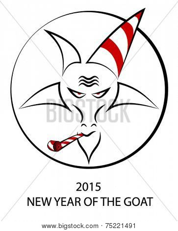 New Year of the Goat 2015 concept