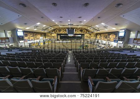 Interior Of A Famous Corn Palace