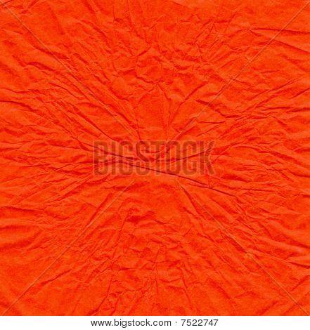 Red Crinkled Background