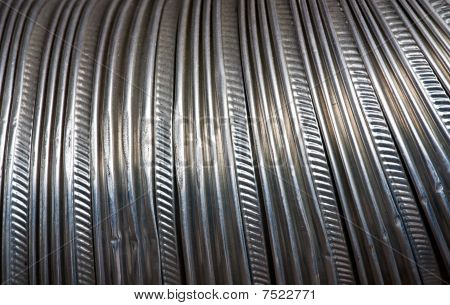 A Texture Of Corrugated Tubes