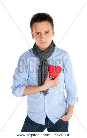 schöner Mann Valentine Vorschlag