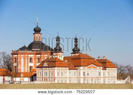 cistercian priory, Mariansky Tynec, Czech Republic