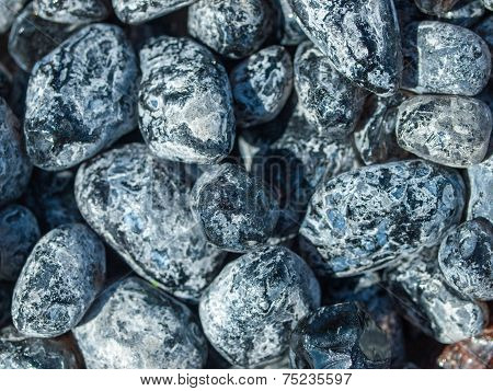 Background Of Shiny Rocks And Crystals