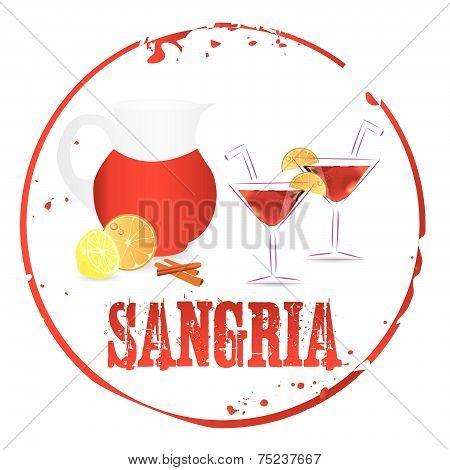Sangria Stamp