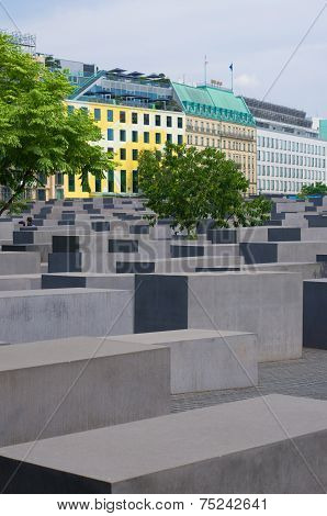 Holocaust Monument In Berlin