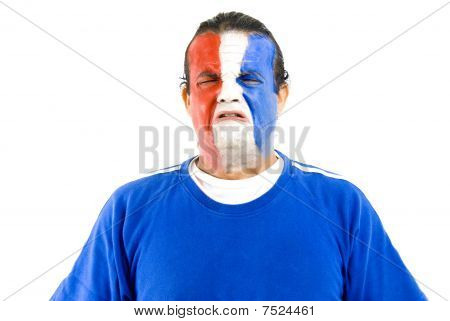Sad French Supporter