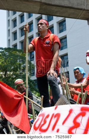 Red Shirt Demonstrations In Bangkok 2010