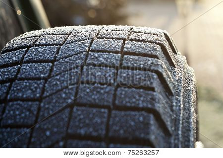 Ice On Tire