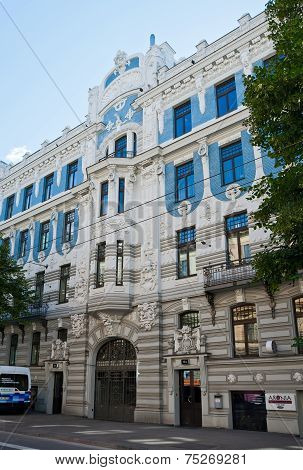 Buildings Of The Art Nouveau, Riga