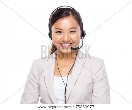 Hotline support operator