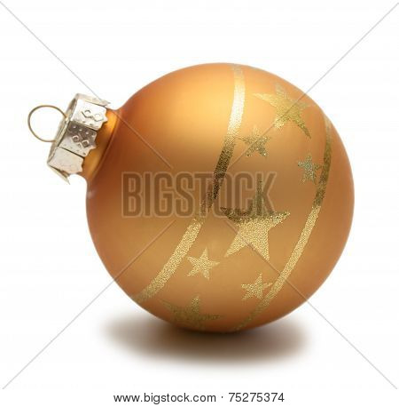 Gold christmas Sphere