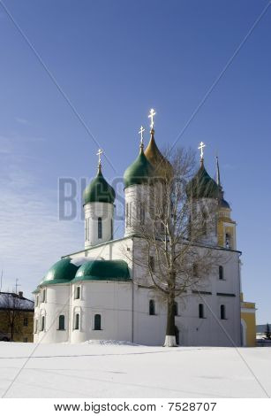 Orthodox Churcn In Winter