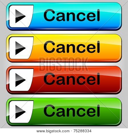 Cancel Buttons