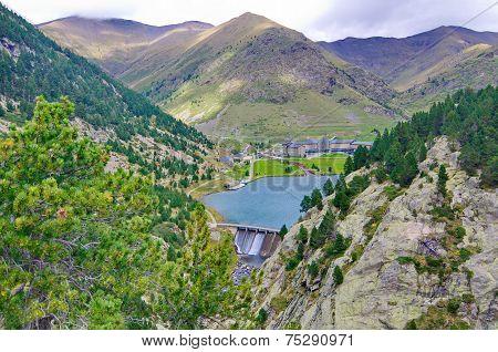 Reservoir, Sancuary, And Dam Of Vall De Nuria