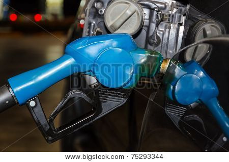 Refueling Diesel To Car
