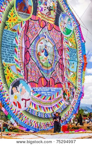 Giant Kite, All Saints' Day, Guatemala