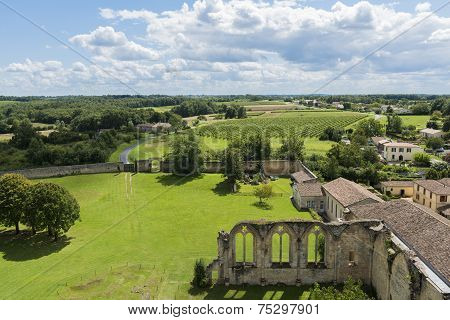 Monastery In La Sauve Gironde