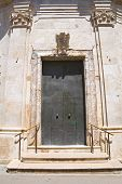 foto of pilaster  - Church of Madonna del Soccorso - JPG