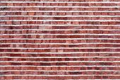 picture of mortar-joint  - Old brick wall with different - JPG