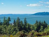 pic of coxcomb  - A View of the Astoria Oregon Area from Coxcomb Hill the Location of the Astoria Column - JPG