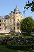 Historic Building In Zagreb poster