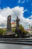 Taras Shevchenko Monument In Lviv, Ukraine poster