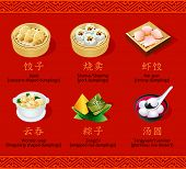 picture of chinese menu  - Chinese steamed - JPG