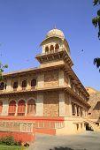 stock photo of saracen  - Albert Hall in Jaipur City - JPG