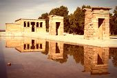 image of rebuilt  - Temple of Debod  - JPG