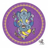 foto of hindu-god  - Hindu God Ganesha - JPG