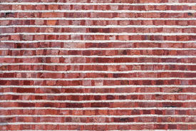 pic of mortar-joint  - Old brick wall with different - JPG