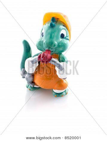 Brinquedo dragão
